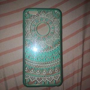 Accessories - iPhone 6 plus teal case